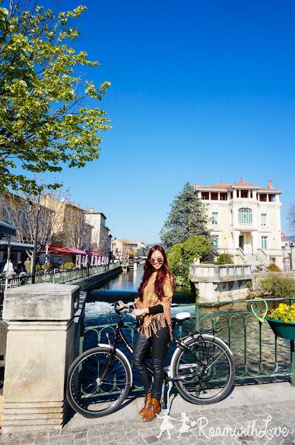 L'Isle Sur La Sorgue, Provence, Honeymoon, ฝรั่งเศส, ทริป, review, ฮันนีมูน กังหัน,ปิกนิก, caisse d'epargne Isle Sur La Sorgue