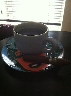 coffee and a cigar