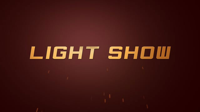 Light Show After Effects Template