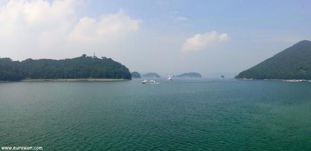 Islas de la costa sur de Corea del Sur