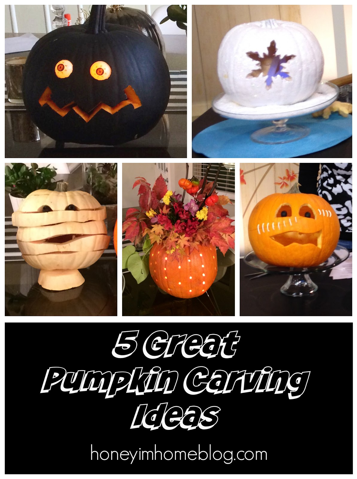 Honey I 39 M Home 5 Creative Pumpkin Carving Ideas A Sara