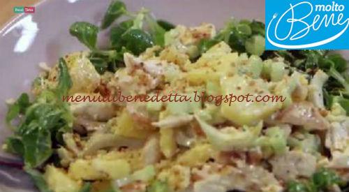 Insalata pollo e ananas ricetta Parodi per Molto Bene