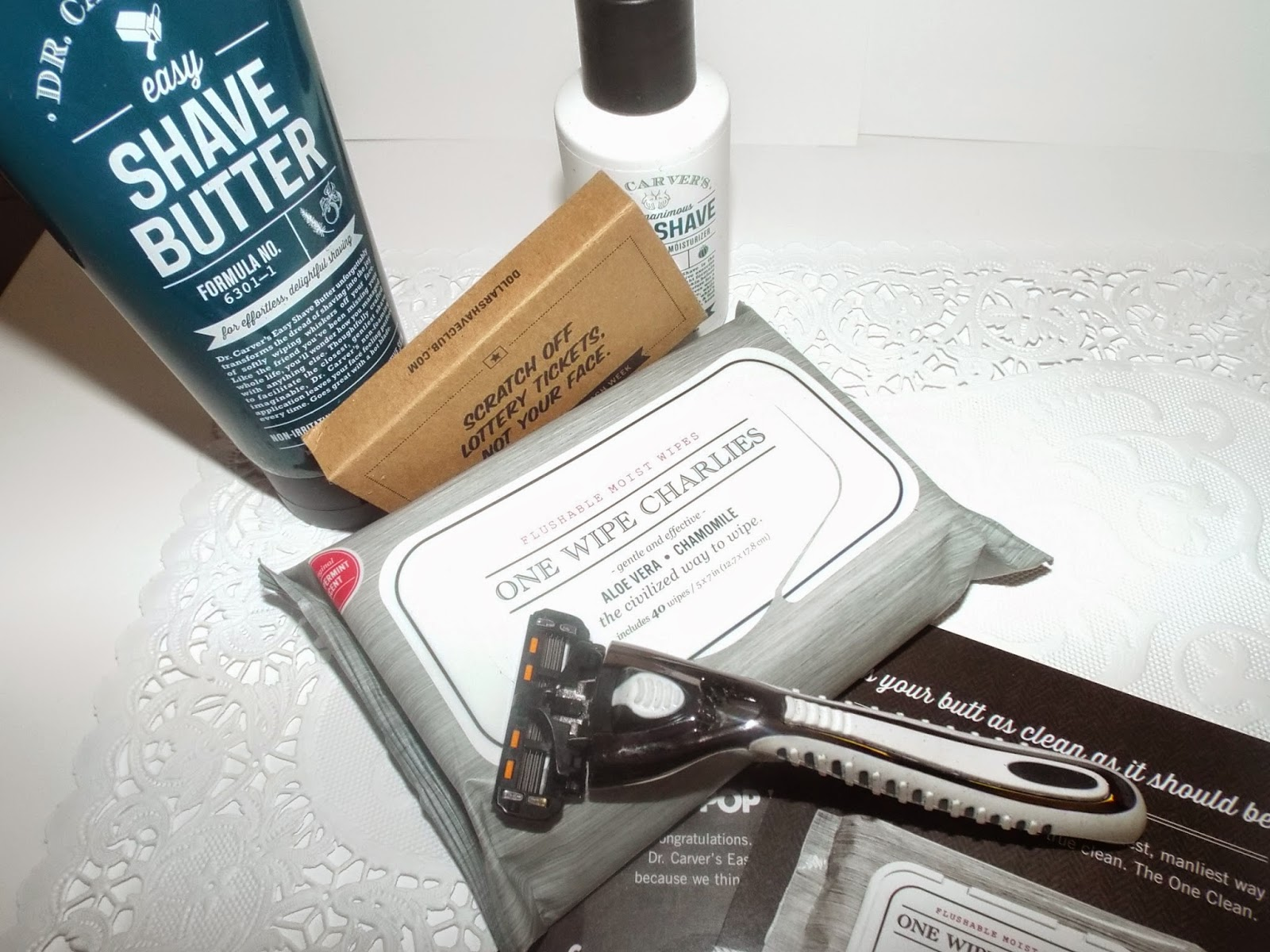 Dr. Shave Club sample
