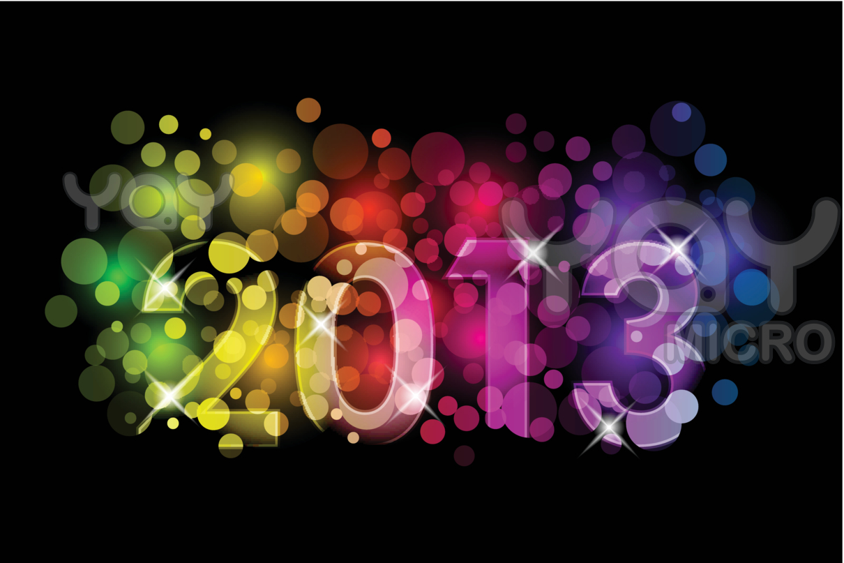 See More Happy New Year Wallpapers 2013