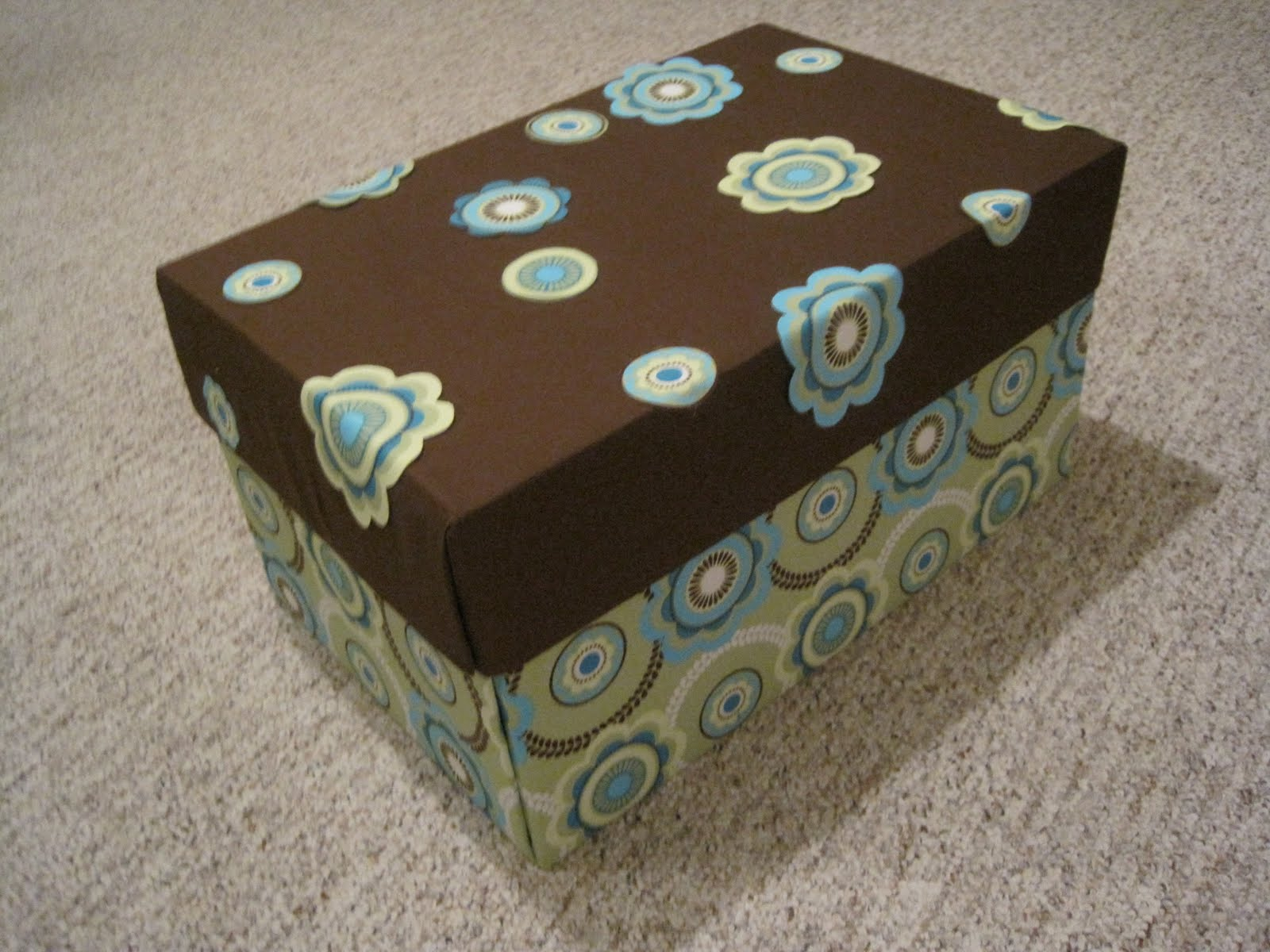 Crafts and crap fabric covered box for Fabric covered boxes craft