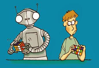 Rubik vs Robot