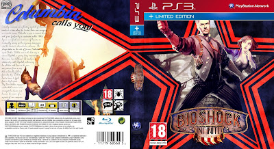 Capa Bioshock Infinite Limited Edition PS3