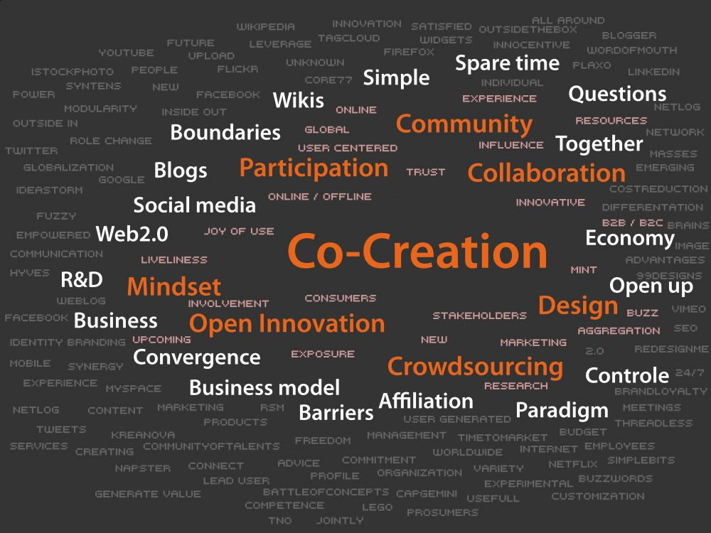 value co creation Value co-creation is about the total value offered to the customer the first challenge is the shift from product-centric innovation to a more holistic approach that .