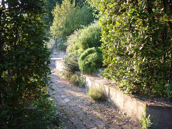 Il giardino gaudente scale e sentieri - Scale da giardino ...