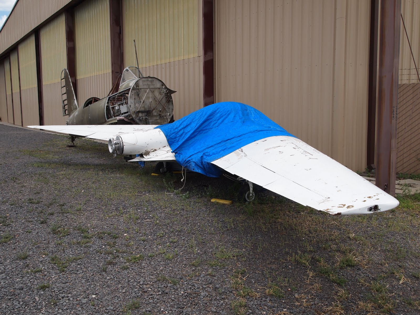 Small Flying Wing Aircraft