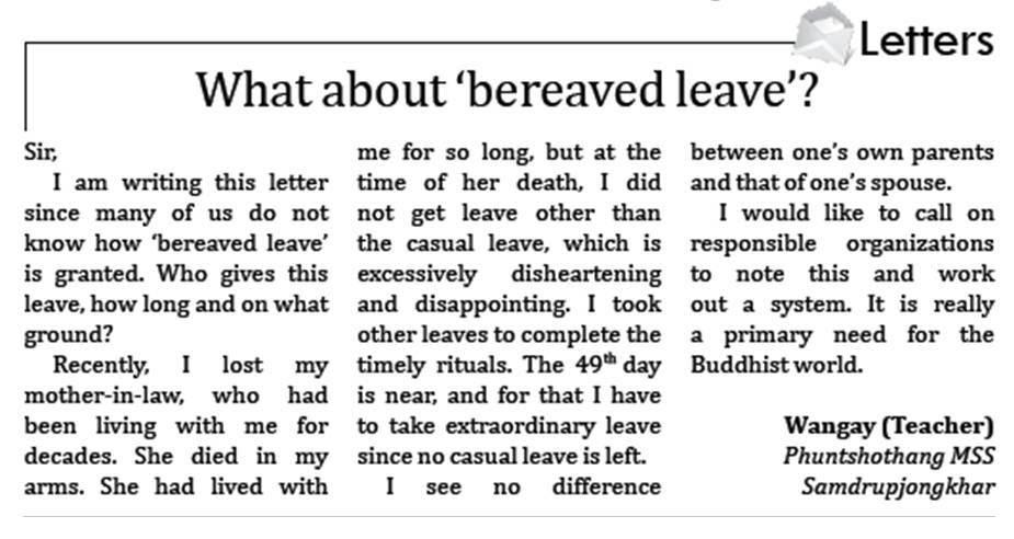 Leave Letter Writing Format Choice Image   Letter Samples Format Family Emergency Leave Letter Sample