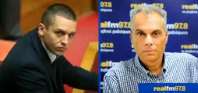 Κασιδιάρηs ΞΕΒΡΑΚΩΝΕΙ Δημοσιογράφο τηs ΛΑΣΠΗΣ που κρύβει ΑΛΗΘΕΙΑ μ@φια των ΚΑΝΑΛΙΩΝ