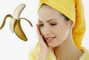Eliminate acne with bananas