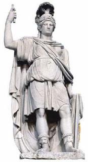 รูปปั้นเทพีโรมา (Goddess Roma)