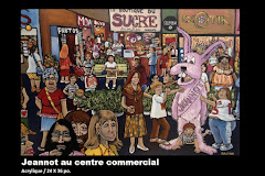 Jeannot au centre commercial