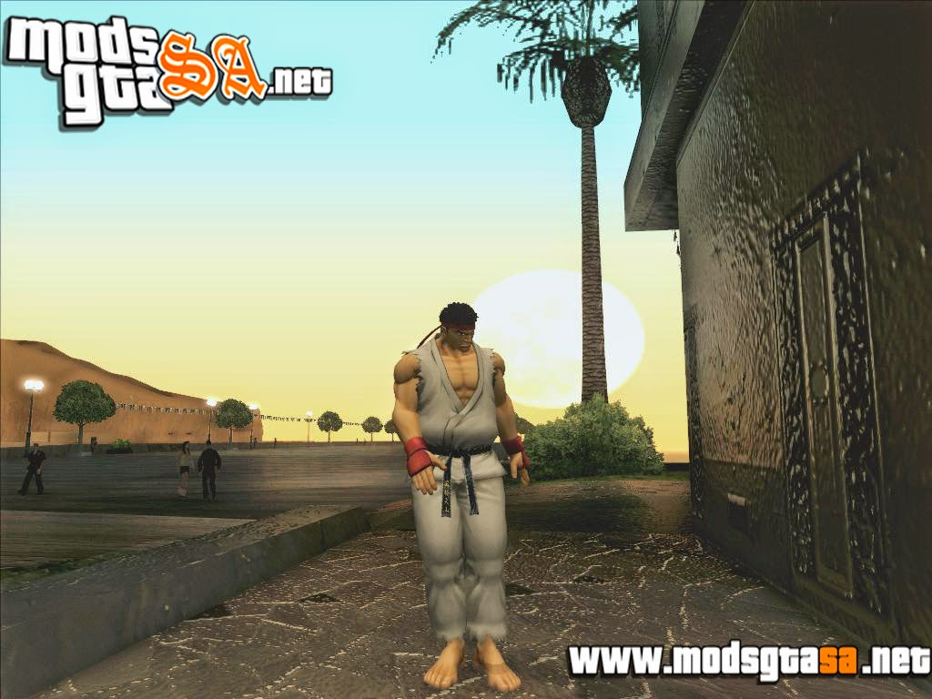 SA - Skin Ryu do Street Fighter