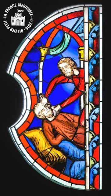 PARIS (75) - Musée National du Moyen Age : Vitraux de la Sainte-Chapelle