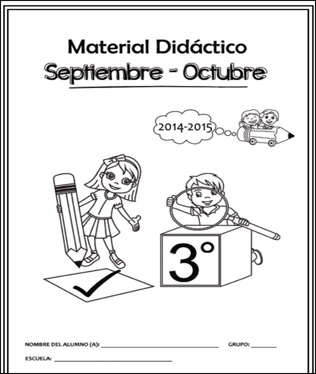 Cuadernillo de Apoyo Didáctico para Tercer Grado 2014 - 2015