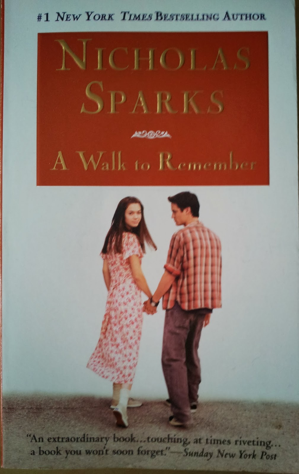 a walk to remember 1 A o scott reviews adam shankman movie a walk to remember photo (m)   one indication of landon's reformation is that he tunes out missy.