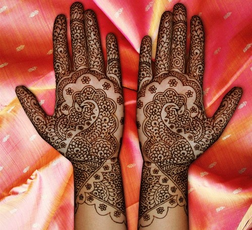 Mehndi Design For Marriage : Pictures maila mehndi designs for hands marriage