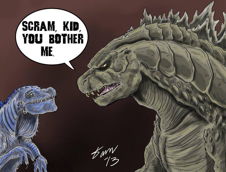 Zilla Vs Godzilla Funny Godzilla vs Zilla