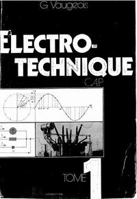 Livre : Electro-technique Tome 1 / Gratuitement