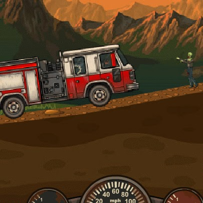 Jogos de carro, jogos de atropelar zumbi, earn to die 2012 part2, versão 2014. Música do jogo earn to die 2012 part 2.