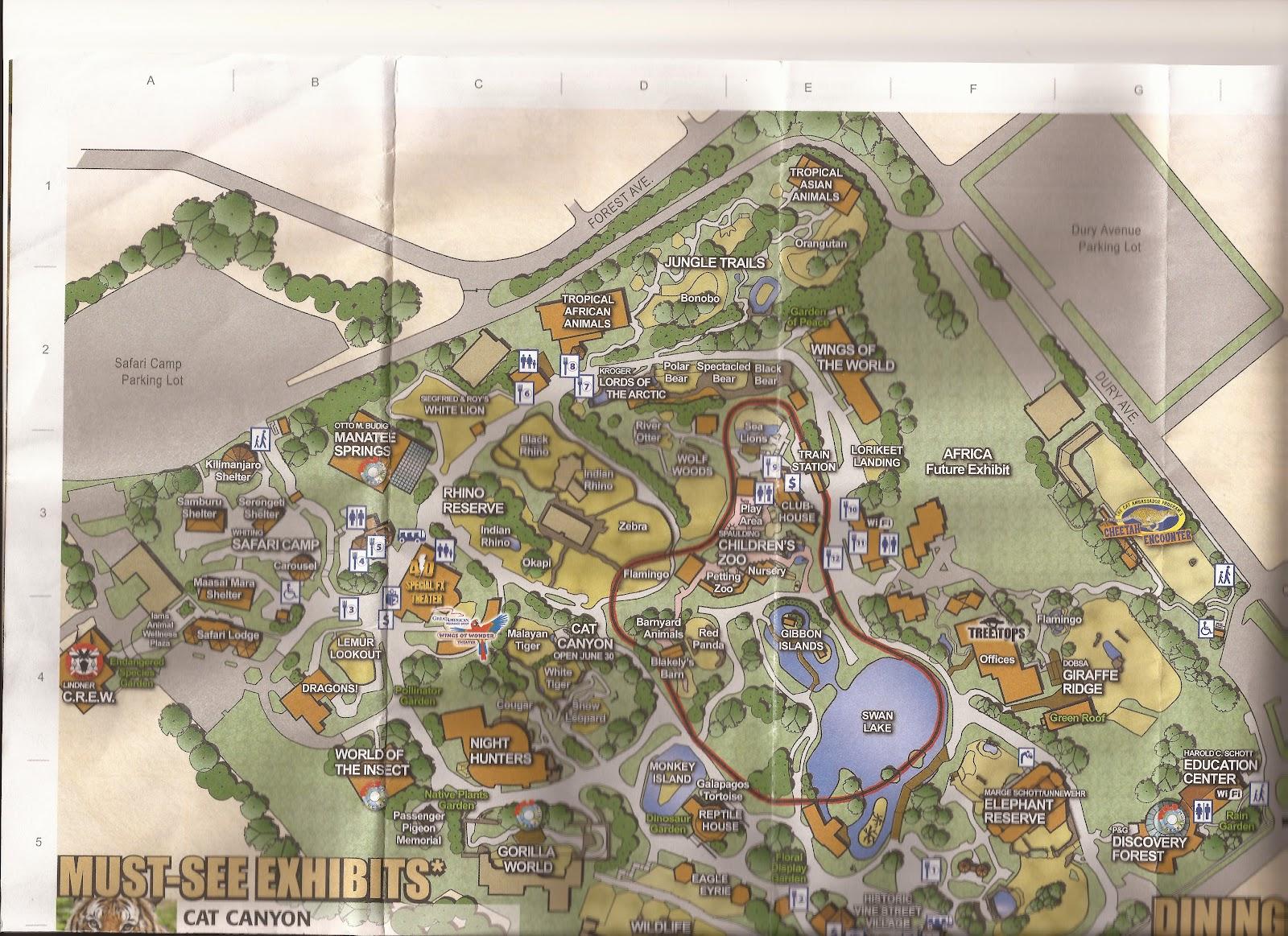 Zoo Tails Zoo Maps