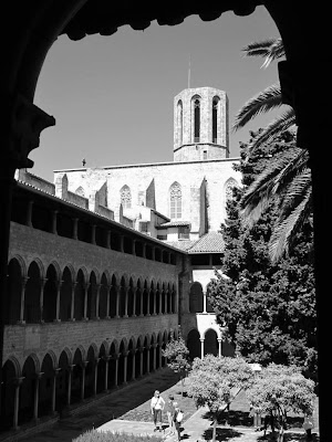 Monastery of Pedralbes in Barcelona