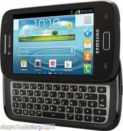 Harga Samsung Galaxy S Relay 4G / Blaze Q SGH-T699 Hp Terbaru 2012