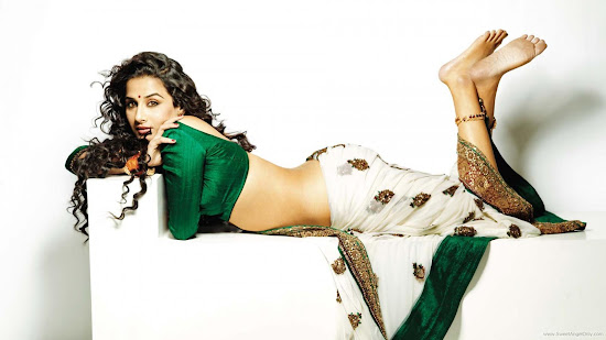 Dirty Picture Bollywood Movie Wallpaper-Vidya Balan