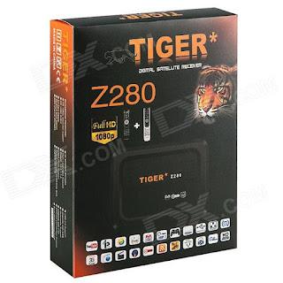 Atualizacao do receptor Tiger Z280 HD V36.97