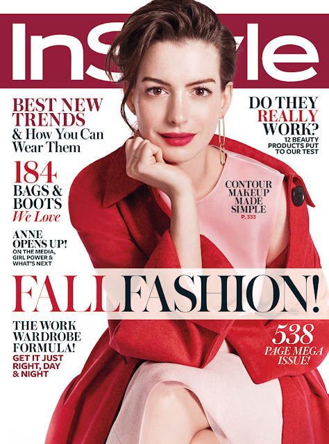 Actress, Singer @ Anne Hathaway - InStyle September 2015