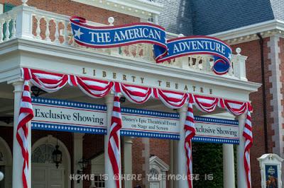 The American Adventure attraction in Epcot's World Showcase