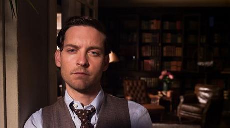 Tobey Maguire  en el Gran Gatsby
