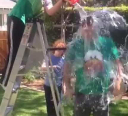 Spike Hike ALS Ice Bucket Challenge
