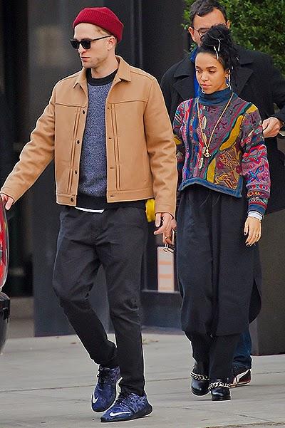 couple FKA Twigs and Robert Pattinson