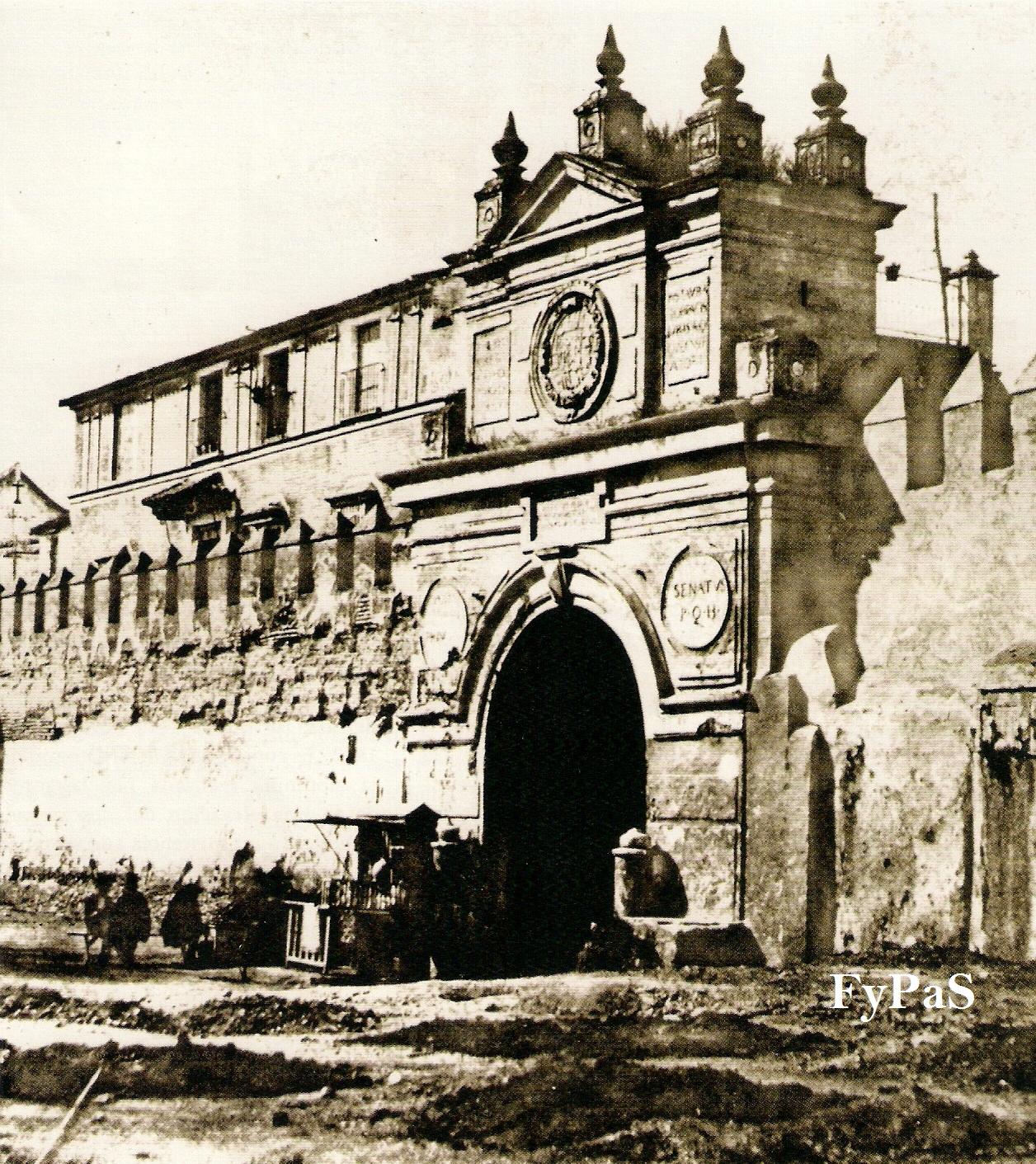 Fotos y postales antiguas de sevilla puertas de sevilla for Puertas correderas sevilla