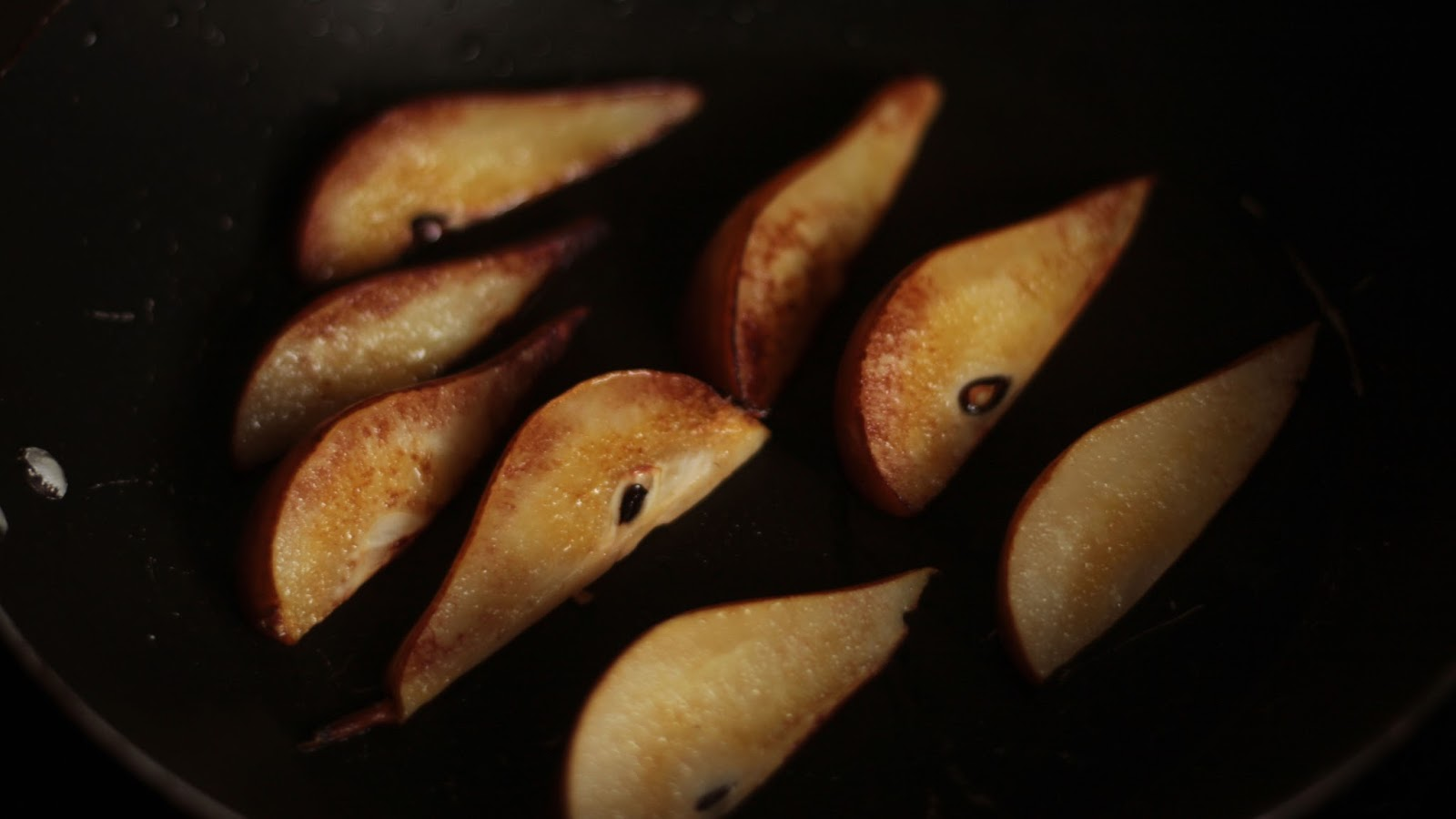 Fried Pears - Pancake Recipe