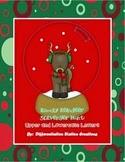 http://www.teacherspayteachers.com/Product/Rowdy-Reindeer-Alphabet-Scavenger-Hunt-Upper-and-Lowercase-Letters-985082