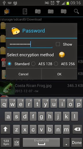 AndroZip Pro File Manager free apk