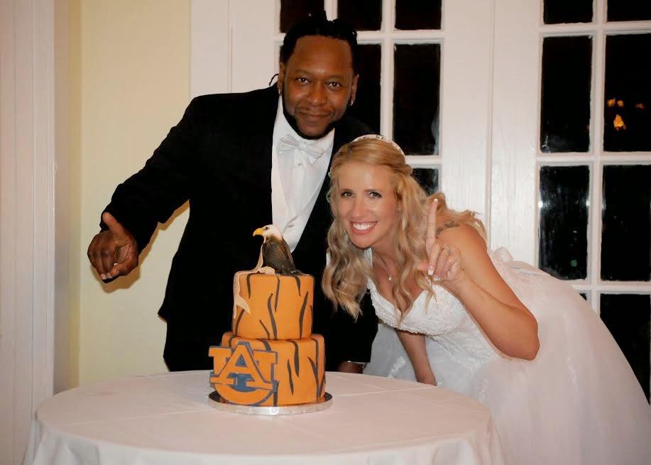 Auburn Tigers Groom's Cake