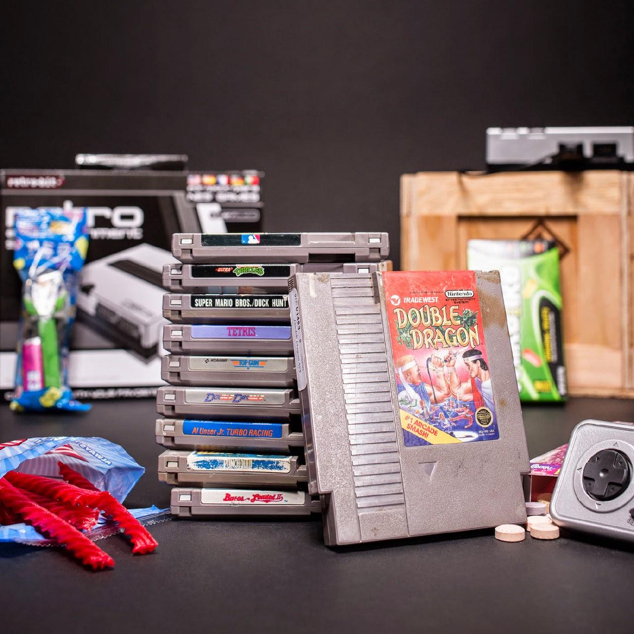 D I Treasures Man Crate 39 S Retro Gaming Crate Nostalgia
