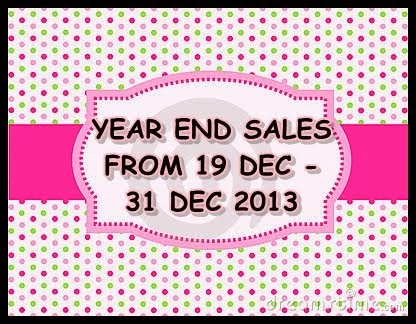 :YEAR END SALES: