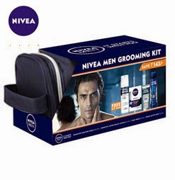 Buy Nivea Men Grooming Kit Rs.399 only