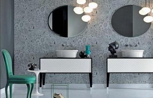 Modern feminine bathroom design luxury concept ideas