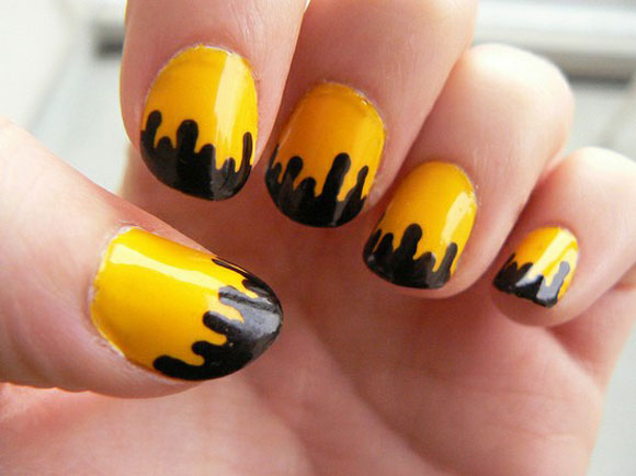 Yellow Nail Art Designs The Daily Obsession Yael