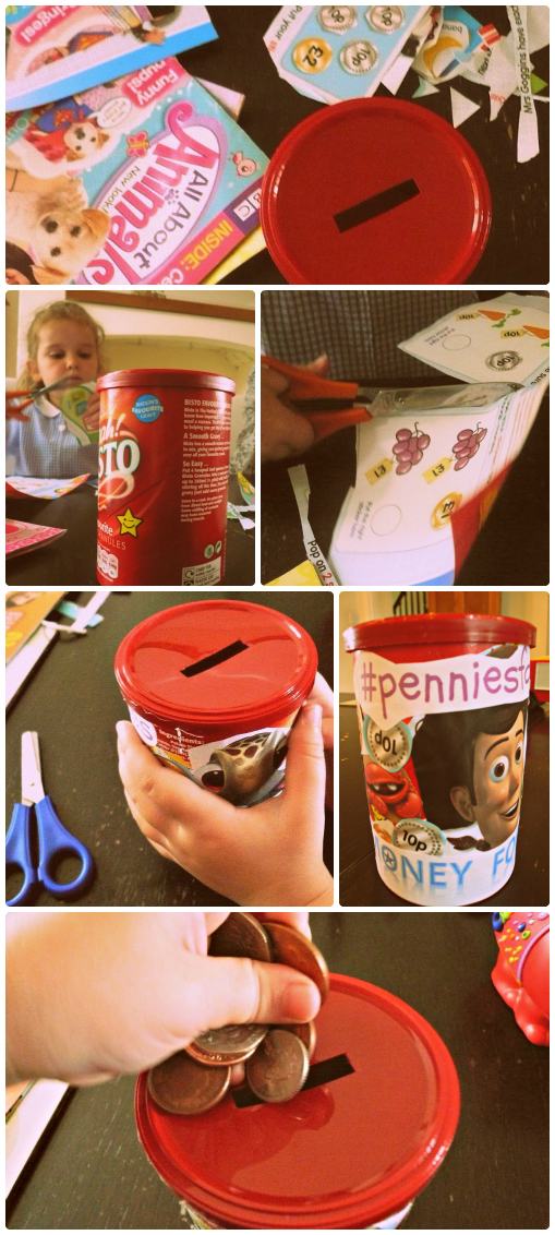 Money Box Crafting in aid of Piggy Bank Kids