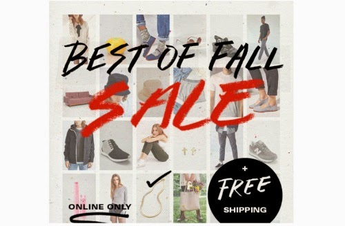 Urban Outfitters Canada Best of Fall Sale