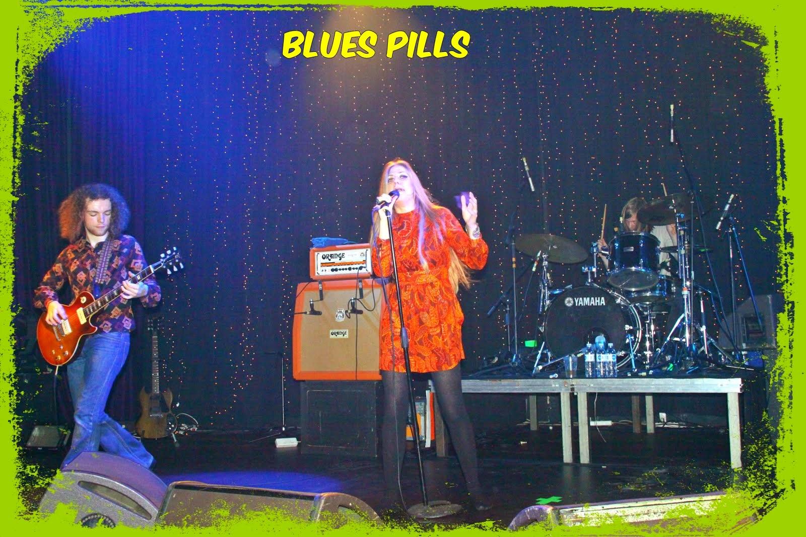 "To ανερχόμενο  vintage rock συγκρότημα ""Blues  Pills""  :"
